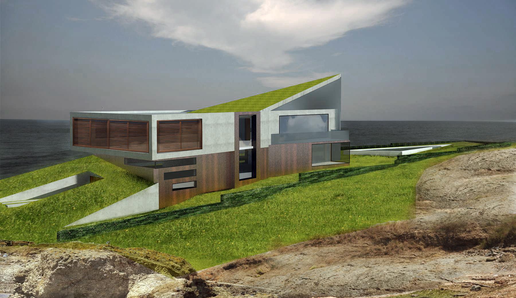 conceptual design villa house lozenets bulgaria - Conceptual Design House